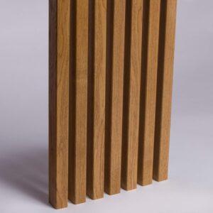Lamele Ścienne Fornirowane MDF - Dąb Havana - Lamele Drewniane - 3451