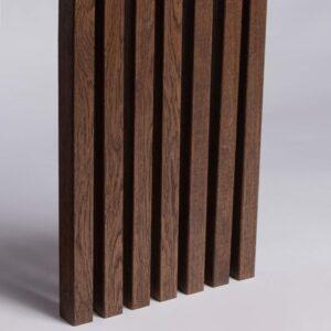 Lamele Ścienne Fornirowane MDF - Dąb Tabak - Lamele Drewniane - 3564